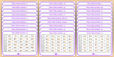 Phase 3 Complete Phoneme Roll and Read Mat