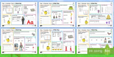 * NEW * Year 1 Summer Term 2 SPaG Activity Mats