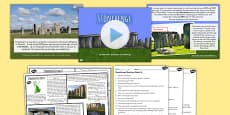 Stonehenge Lesson Teaching Pack