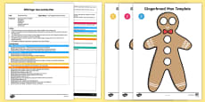 EYFS The Gingerbread Man Finger Gym Plan and Resource Pack