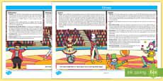 Circus Lesson Plan Ideas KS1