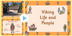 Viking Life and People PowerPoint