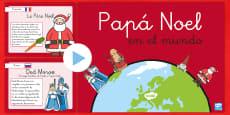 Presentación: Papa Noel en el mundo