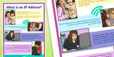IP Addresses Display Poster