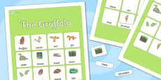 The Gruffalo Vocabulary Word Poster
