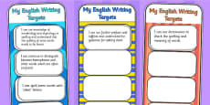 2014 Curriculum UKS2 Years 5 and 6 Writing Assessment Bookmarks and Cut Outs