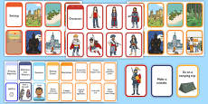 Story Writing Prompt Cards Pack