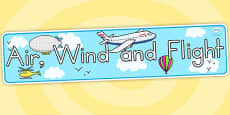 Australia - Air, Wind and Flight Display Banner