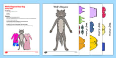 Wolf's Disguise Busy Bag Resource Pack for Parents
