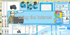 PlanIt - Computing Year 2 - Using the Internet Additional Resources