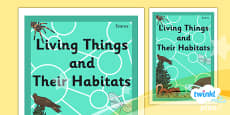 PlanIt - Science Year 4 - Living Things and Their Habitats Book Cover