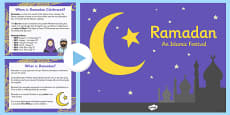 Ramadan Information PowerPoint