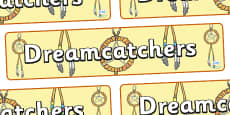 Dreamcatchers Display Banner