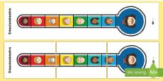 Póster DIN A4: El emocionómetro