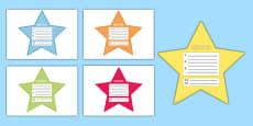 My Goals Pupil Target Stars Mandarin Chinese