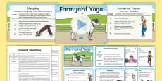 Farmyard Yoga Story PowerPoint Pack