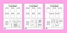 I Can Read! Phase 4 Polysyllabic Words Activity Sheet