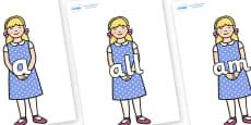 Foundation Stage 2 Keywords on Goldilocks