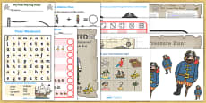 KS1 Pirates Lesson Plan Ideas and Resources Pack