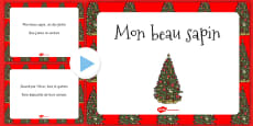 O Christmas Tree PowerPoint French