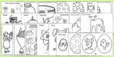 Bumper Spring Term Festivals Colouring Activity Booklet
