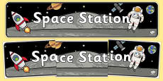 Space Station Role Play Banner