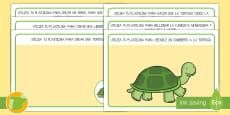 * NEW * Tapices de plastilina: La liebre y la tortuga
