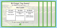 Seachtain na Gaeilge Oral Language Challenges