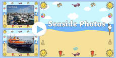 Seaside Display Photo PowerPoint