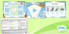 PlanIt - D&T LKS2 - Let's Go Fly a Kite Lesson 5: Making the Shape and Structure Lesson Pack