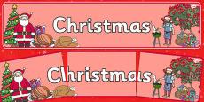 Christmas Display Banner NZ
