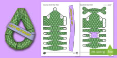 * NEW * 3D ANZAC Day Wreath Paper Craft