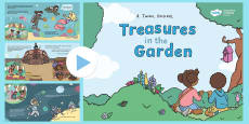 * NEW * Treasures in the Garden Story PowerPoint