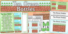 Ten Green Bottles Resource Pack