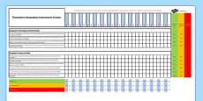 Australian Curriculum Foundation Geography Assessment Tracker