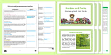 EYFS Parks and Gardens Discovery Sack Plan and Resource Pack