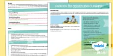 * NEW * PlanIt Y3 Explorers: To Support Teaching On The Firework-Maker's Daughter Topic Overview