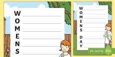 Women's Day Acrostic Poem