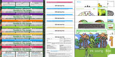 EYFS Bumper Planning Pack to Support Teaching on Rumble in the Jungle