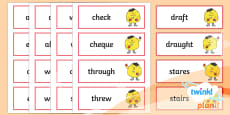 PlanIt Spelling Additional Resources Year 4 Term 2A Spelling Word Cards
