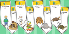 Editable Bookmarks to Support Teaching on The Great Pet Sale