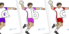 Phoneme Set on Handball