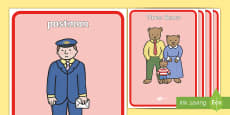 Display Posters to Support Teaching on The Jolly Postman