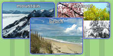 Physical Geography Display Photos