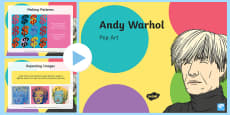 Andy Warhol Pop Art PowerPoint