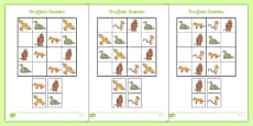 Sudoku Resource Pack to Support Teaching on The Gruffalo