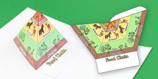 3D Food Chain Pyramids Foldable Visual Aids With Images