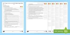 AQA (Trilogy) Unit 6.5 Forces Student Progress Sheet