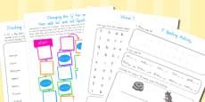 Australia - Year 2 Spelling Activities 5