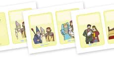 King Arthur Story (Plain - 2 per A4)